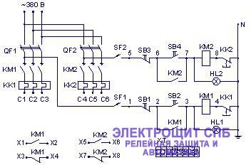 я5114 ящик управления схема